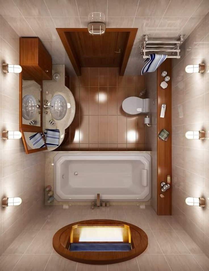 aranżacja małej łazienki w bloku łazienka w 10 dni remont warszawa