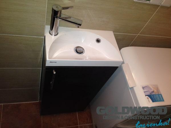 aranżacja małej łazienki w bloku na Mokotowie w Warszawie łazienka w 10 dni