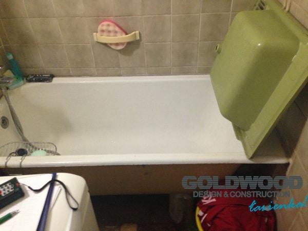 aranżacja małej łazienki w bloku Żoliborz warszawa łazienka w 10 dni