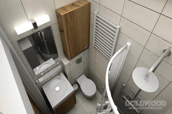 Projekt I Wykonanie łazienki Milanówek Styl Nowoczesny