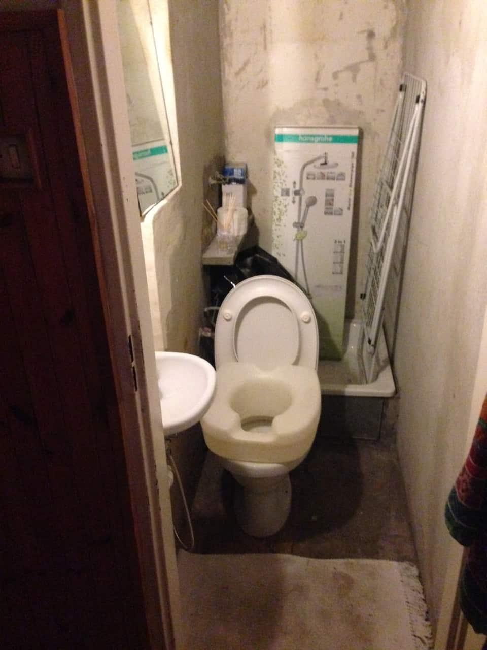 pomysł na remont toalety w bloku na woli warszawa Łazienka w 10 Dni