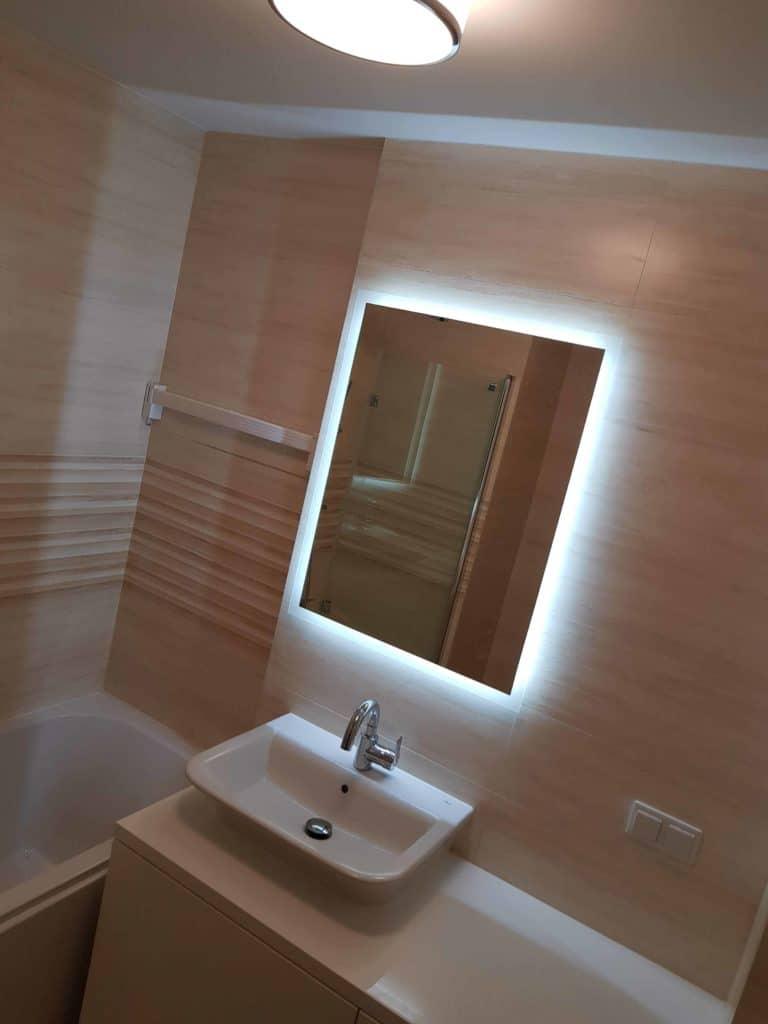 Remont małej łazienki w bloku w Warszawie zdjęcie po wykonaniu