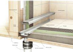odpływ liniowy montaż remont łazienki w 10 dni